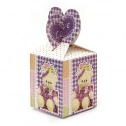 Κουτάκι δώρου από χαρτόνι  175x85 mm