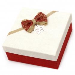 Кутия за подарък 210x210x95 мм АСОРТЕ