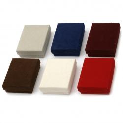 Кутия за бижута 70x90 мм АСОРТЕ кадифе