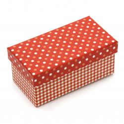 FOLIA кутия за подарък правоъгълна 13x7x5.5 см