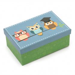 FOLIA кутия за подарък правоъгълна 16.5x10.5x6.5 см