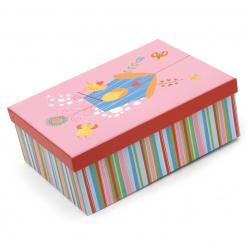FOLIA кутия за подарък правоъгълна 22.5x16.5x8 см