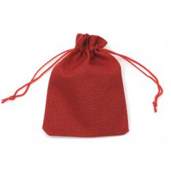 Sack bag 9.5x13.8 cm red