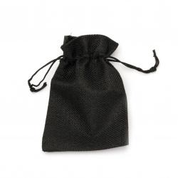 Sack bag 9.5x13.8 cm black