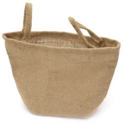 bag of burlap type cashew 120 ~ 230x150 ~ 240 mm waterproof with handles
