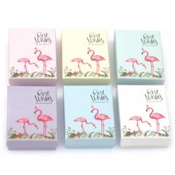 Кутия за бижута 70x90 мм АСОРТЕ Фламинго