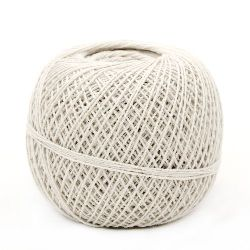 Cotton yarn for handmade clothes and accessories 1.4 mm