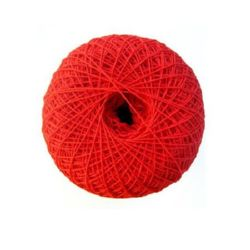 Cotton yarn for handmade clothes and accessories 0.7 mm