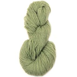 YARN LIVING WOOL green light  for handmade clothes and accessories-100 grams