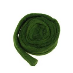 Woolen yarn for handmade clothes and accessories 5color olive -50 grams ~ 1.8 meters
