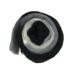 Woolen yarn for handmade clothes and accessories 50g x 3 m