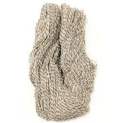 Homemade wool natural melange St -200 grams