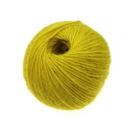 Μάλλινο νήμα, κίτρινο -50 γραμμάρια
