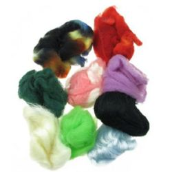 Coloured  felt fabric 50g