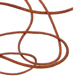 Шнур полиестер 0.8 мм кафяво пясъчно ~120 метра