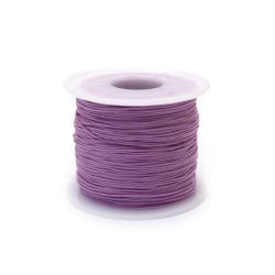 Шнур полиестер 0.8 мм лилав ~120 метра