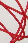 Шнур полиестер 0.8 мм червен ~120 метра