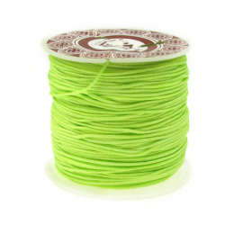Polyester jewellery cord 1 mm