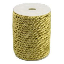 Polyester jewellery cord 5 mm