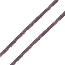 Snur poliester 0,8 mm maron -7 ~ 9 metri
