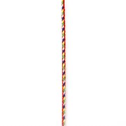 Шнур полиестер 3 мм цветен -5 метра
