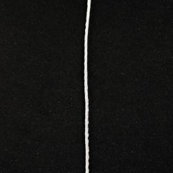Шнур полиестер 2 мм бял -5 метра