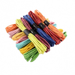 Шнур от хартия 4 мм АСОРТЕ цветове ~4.5 метра