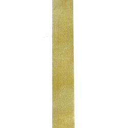 Ширит 4 мм лента злато -10м.
