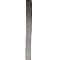 Лента органза 15 мм черна -10 метра