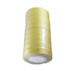 Panglică Organza 20mm auriu ~ 22m