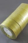 Лента органза 50 мм злато ~22 метра