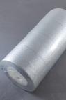 Panglica Organza 50 mm argintiu ~ 22 metri