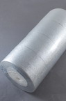 Лента органза 50 мм сребро ~22 метра
