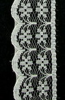 Lace Ribbon for Decoration, Wedding Party, Clothes, Home Decor,  22 mm cream -1 meter