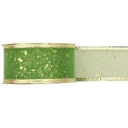 Organza ribbon for decoration 41 mm