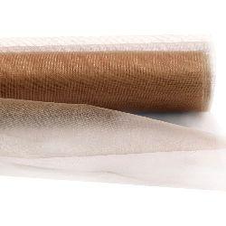Organza 48x420 cm salmon