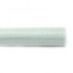 Органза 48x450 см зелена пастелна