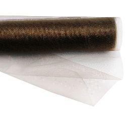 Органза 48x450 см кафява