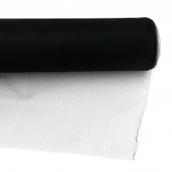 Tul moale pentru decor 48x450 cm negru