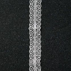 Vintage Lace Ribbon for Decoration, Wedding Party, Clothes, Sewing, Gift Wrapping   28 mm