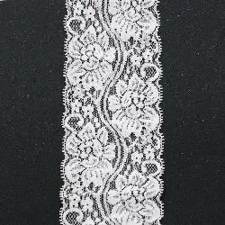 Lace Border Ribbon for decoration  80 mm
