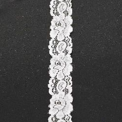 Lace ribbon for decoration 35 mm