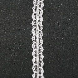 Lace Border Ribbon for decoration 28 mm