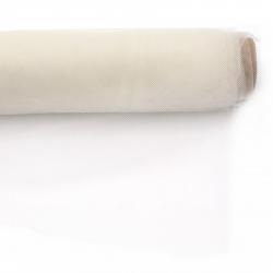 Тюл мек за декорация 48x450 см шампанско