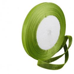 Panglică Organza 20 mm verde închis ~ 45 metri