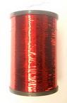 Metallic Cord, jewelry making thin red -50 grams