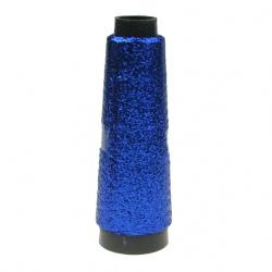 Metallic Cord Ribbon,Jewelry Making, Gift  1000 meters blue dark