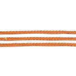 Ламе плетено 3 мм медно ~100 метра