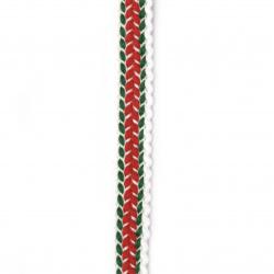 Ширит 15 мм памук трибагреник -1 метър