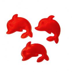 Делфин 30 мм червен -50 броя